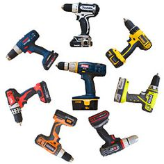Review: Seven Popular 18V Lithium Ion Drills