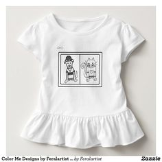 Color Me Designs by Feralartist - Dog & Cat Toddler T-shirt