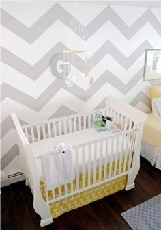 such a cute nursery for Nicholas' sister!!! your fav gray and then little gi-raffes!!