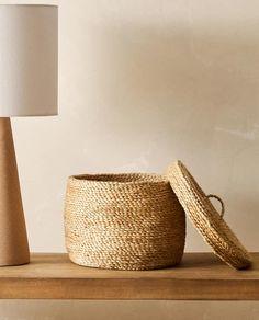 Jute, Tapas, Zara Home España, Round Basket, Home Design Decor, Straw Bag, Baskets, United States, America