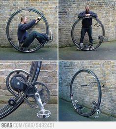 Monowheel cycle