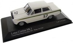 1-43 Scale 1:43 Minichamps Lotus Ford Cortina MK1 Team Lotus Crystal Palace 1964 - Jim Clark Lotus Ford Cortina MK1 Team Lotus Crystal Palace 1964 as driven to victory by Jim Clark http://www.comparestoreprices.co.uk/motorsport-gifts/1-43-scale-143-minichamps-lotus-ford-cortina-mk1-team-lotus-crystal-palace-1964--jim-clark.asp
