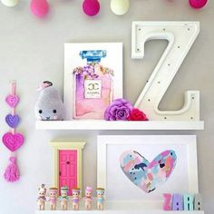 WOOD Letter Alphabet LED Nursery Kids Night Light. Available at www.unwrappedstore.com