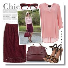 """""""Burgundy/Blush/Leopard"""" by queenvirgo ❤ liked on Polyvore featuring J.Crew, Yves Saint Laurent, Miu Miu and Jessica Simpson"""