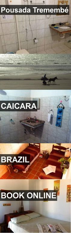Hotel Pousada Tremembé in Caicara, Brazil. For more information, photos, reviews and best prices please follow the link. #Brazil #Caicara #travel #vacation #hotel