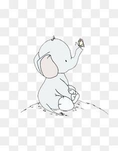 나비,아기 코끼리,잔디,모노 톤 Elephant Quilts Pattern, Quilt Patterns, Logos Cards, Butterfly Baby, Instagram Highlight Icons, Sewing Toys, Baby Decor, Baby Elephant, Animal Paintings