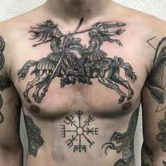 Best Chest Tattoos for Men - Chest Tattoo Gallery for Men - Chest Tattoos . - Best Chest Tattoos for Men – Chest Tattoo Gallery for Men – Chest Tattoos for Men are ver - Cool Chest Tattoos, Dope Tattoos, Unique Tattoos, Beautiful Tattoos, Black Tattoos, Body Art Tattoos, Small Tattoos, Tattoos For Guys, Men Back Tattoos