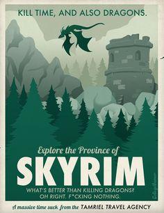 #Design : Explore the Province of #Skyrim