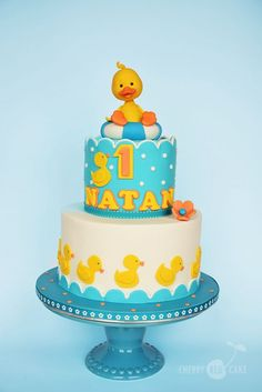Cake with ducks