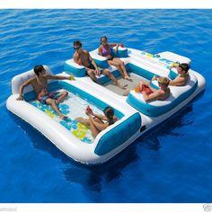 Raft for lake