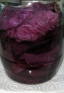 CAROLYN SAXBY MIXED MEDIA TEXTILE ART: Natural dyeing - purple