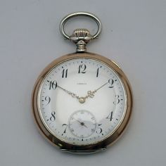 Omega pocket watch from early 1900s via MarCels. Click on the image to see more!