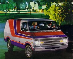 OMG! My dads friend had this van, I totally remember the shag carpet on roof liner.