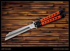 Handmade Knives - 29 Knives - Previously Sold Unique Knives, Cool Knives, Knives And Swords, Benchmade Knives, Tactical Knives, Emerson Knives, Knife Aesthetic, Bali Baby, Pocket Knives