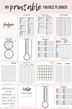 Stay on top of finances this year for a change. Never miss a payment again, get out of debt quicker, and build up savings with this planner helping you step by step along the way!