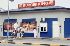 Burger King in Qatar. No lie.