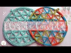 YouTube Macrame, Diy Crafts, Youtube, Instagram, Crochet Mandala, Crochet Designs, Crochet Flowers, Simple Mandala, Flower Of Life