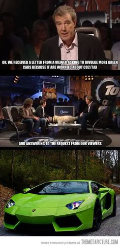Top Gear and Green Cars