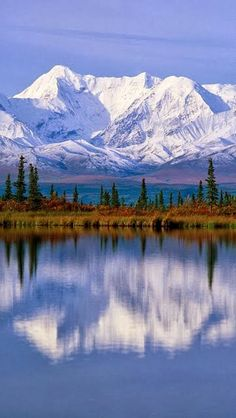 Majestic Reflections, Alaska ~ Blogger Pixz http://bloggerpixz.blogspot.com/2013/10/majestic-reflections-alaska.html