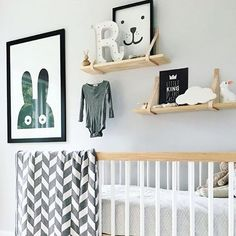 Love the soft tones in this gorgeous nursery by @daniellenicoledavies …