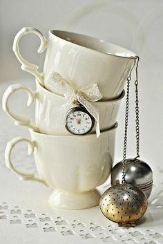 .cream and silver