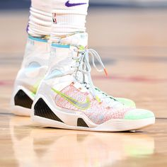 "db0bca8889bf Bleacher Report Kicks on Instagram  "" Swipathefox wearing the Nike Kobe 9  Elite"