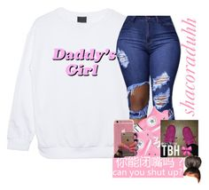 """."" by shacoraduhh ❤ liked on Polyvore featuring Converse"