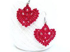 Image result for crochet dangle earrings pattern