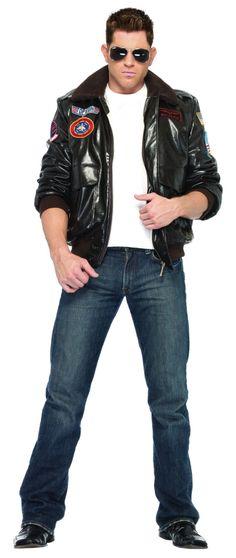 Top Gun Bomber Jacket Costume £62.50 : Get It On Fancy Dress Superstore, Fancy Dress & Accessories For The Whole Family. http://www.getiton-fancydress.co.uk/tvmusicfilm/topgun/topgunbomberjacketcostume#.UzyI76KNJ0o