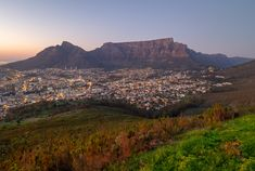 Cape Town / Table Mountain at Dawn / Clickasnap Table Mountain, Cape Town, South Africa, Dawn, Grand Canyon, Mountains, Landscape, Nature, Travel