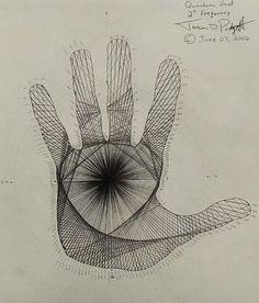 Quantum Hand Poster By Jason Padgett.