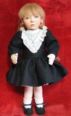 #20 of 75 MIRANDA Ltd Edition felt doll by Maggie Iacono - Maggie Made Dolls