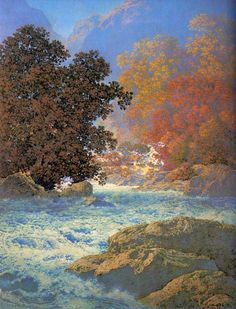 Misty Morn : Maxfield Parrish