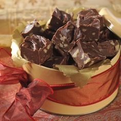 CARNATION® FAMOUS FUDGE: The reviews are in! This five-star recipe makes an unforgettably delectable holiday gift – one family, friends, and coworkers won't soon forget. And with easy variations, you can make milk chocolate, butterscotch, or peanutty chocolate fudge.