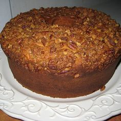 all news food recipes: Sweet Potato Pound Cake Sweet Potato Pound Cake, Sweet Potato Recipes, Sweet Bread, Sweet Potatoe Cake Recipe, Köstliche Desserts, Delicious Desserts, Dessert Recipes, Cupcakes, Cupcake Cakes