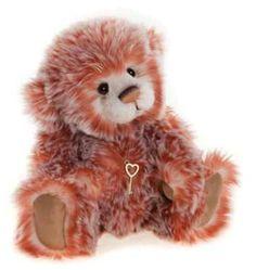 Charlie Bears Plush Edith Bear - 2015