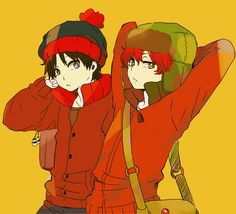 South park   friends   kyle   love   stan marsh   style