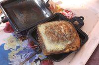 Pie Iron Recipe #1: Breakfast Sandwiches - Mustard Seeds
