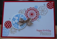 Julie's Japes - Circle Circus birthday card
