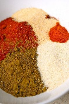 Homemade Taco Seasoning       Ingredients:  4 tbsp. chili powder  3 tbsp. plus 1 tsp. paprika  3 tbsp. ground cumin  1 tbsp. plus 2 tsp. onion powder  1 tsp. garlic powder  ¼ tsp. cayenne pepper  Directions:   Combine all ingredients in a bowl, and mix well to blend.  Store in an airtight container until ready to use.  To prepare taco meat, use 2 heaping tablespoons in place of a package of taco seasoning (cook approximately 1 lb. of beef or chicken, add 1 cup of water with the se...