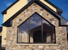 Passive stone house design, Cavan  Sandstone Passive House Design, Stone Houses, Great Pictures, Home Goods, Windows, Architecture, Awesome, Beauty, Stone Cottages