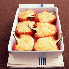 Polenta-Stuffed Peppers Recipe | Martha Stewart