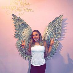 》with brave wings she flies《 Katie Donnelly, Baddies, Gymnastics, Brave, Photo Shoot, Wings, Pure Products, Photo And Video, Youtube