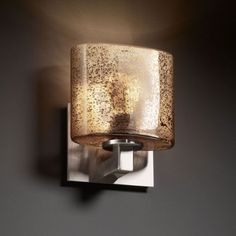 Fusion Modular Brushed Nickel ADA Wall Sconce