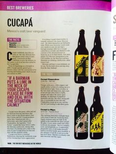Cerveza Cucapá ranked top 100 best beers in the world - San Diego Red