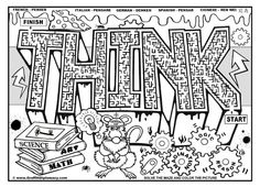 educational graffiti coloring page for older kids