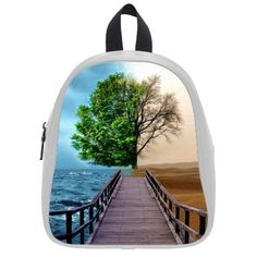 This school bag is much more suitable for kindergarten children 2015 Charming Abstract Half Life Tree Theme Children BackpacksKids School Bag Small Backpack * You can get more details by clicking on the image. #ChildCarrierPacks
