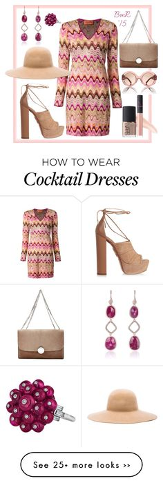 """""""My Heart Beats for You"""" by barbmama on Polyvore featuring Missoni, Aquazzura, Ryan Roche, Marc Jacobs, Tory Burch, Monica Vinader and NARS Cosmetics"""