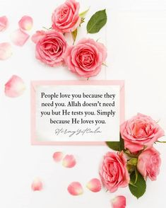 Beautiful Quotes About Allah, Beautiful Islamic Quotes, Islamic Inspirational Quotes, Islamic Qoutes, Blossom Quotes, Allah Loves You, Muslim Love Quotes, Islamic Teachings, Islamic Wallpaper