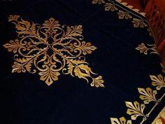 yeni maraş işi yatak örtüsü modelleri